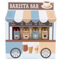 Modern Gourmet Foods Kaffee Sirup Barista Bar Peppermint-Hazelnut-Vanilla-Amaretto