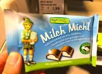 Rapunzel Milch Michö Vollmilchschokolade mit Milchfüllung Bio-Fair