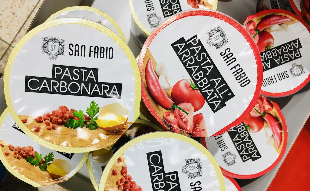San Fabio Pasta Carbonara-Pasta All-Arrabbiata
