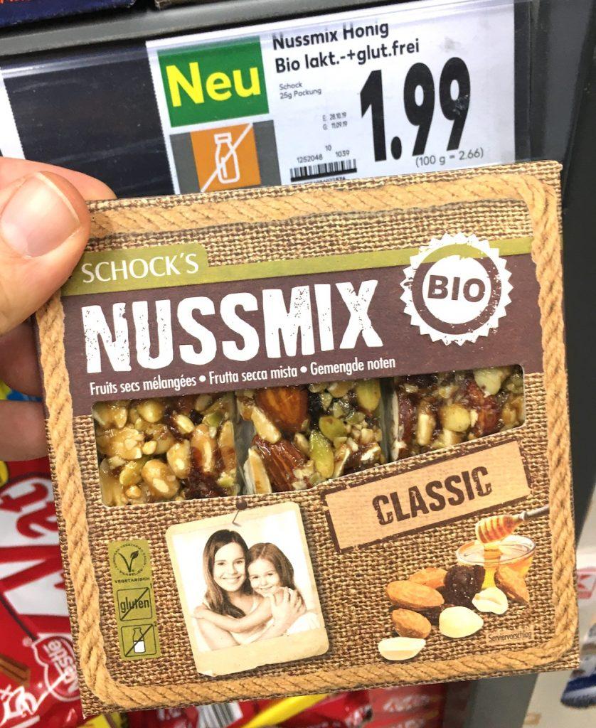Schock's Nussmix Bio Riegel Classic