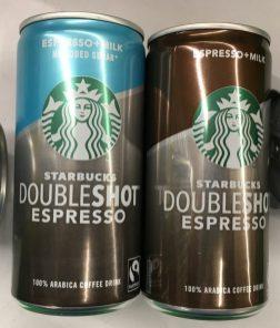 Starbucks DoubleShot Espresso in der Dose - ohne Zucker