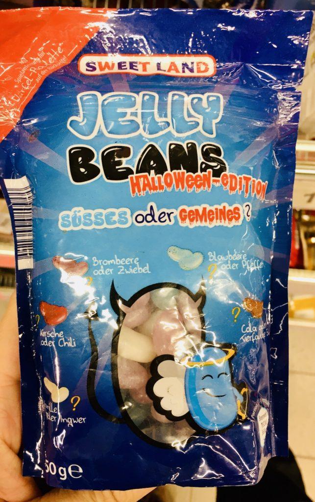 Aldi Sweetland Jelly Beans Halloween-Edition Süsses oder Gemeines 50 Gramm