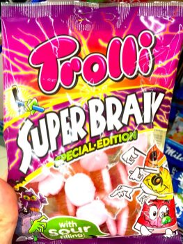 Trolli Super Brain Special-Edition with sour Filling