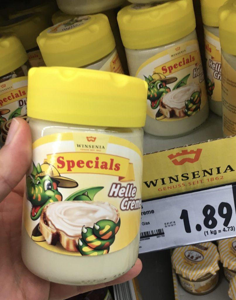 Winsenia Helle Creme Aufstrich