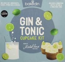 "Backmischung ""Gin & Tonic Cupcake Kit"" von bakedin."
