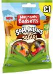 Maynards Bassetts Soft Jellies Wild Safari Fruchtgummi