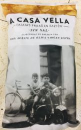 A Casa Vella Kartoffelchips ohne Salz Olivenöl Spanien Retrofotomotiv