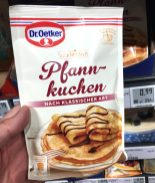 Dr Oetker Süße Mahlzeit Pfannkuchen nach klassisher Art