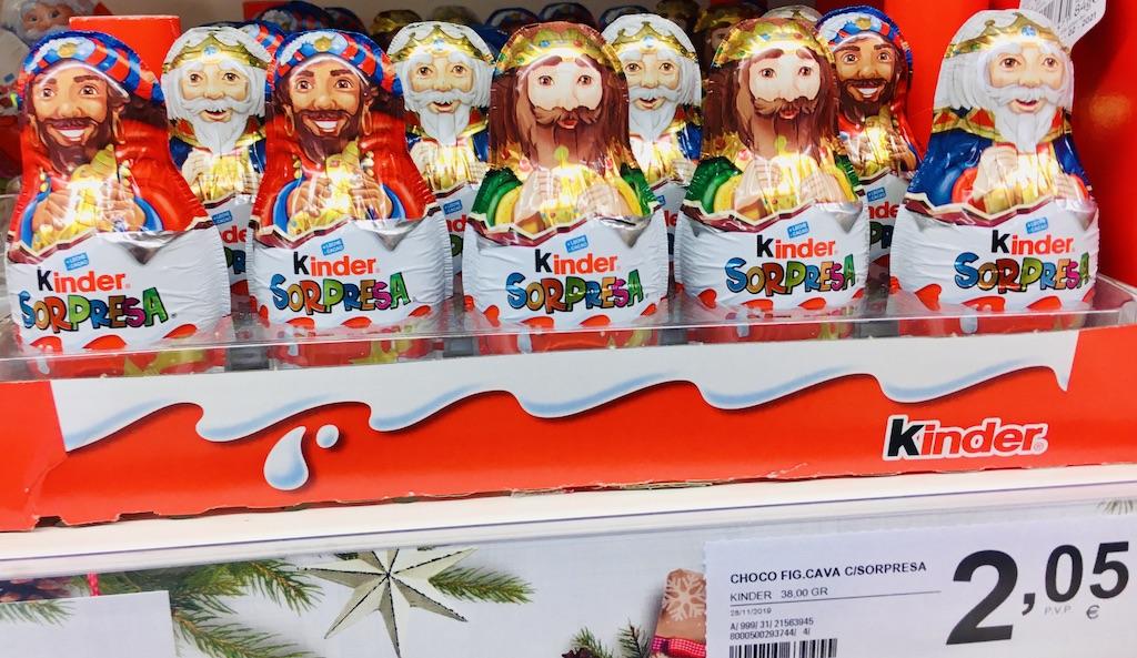 Ferrero Kinder Heilige Drei Könige Schokoladenhohlfiguren
