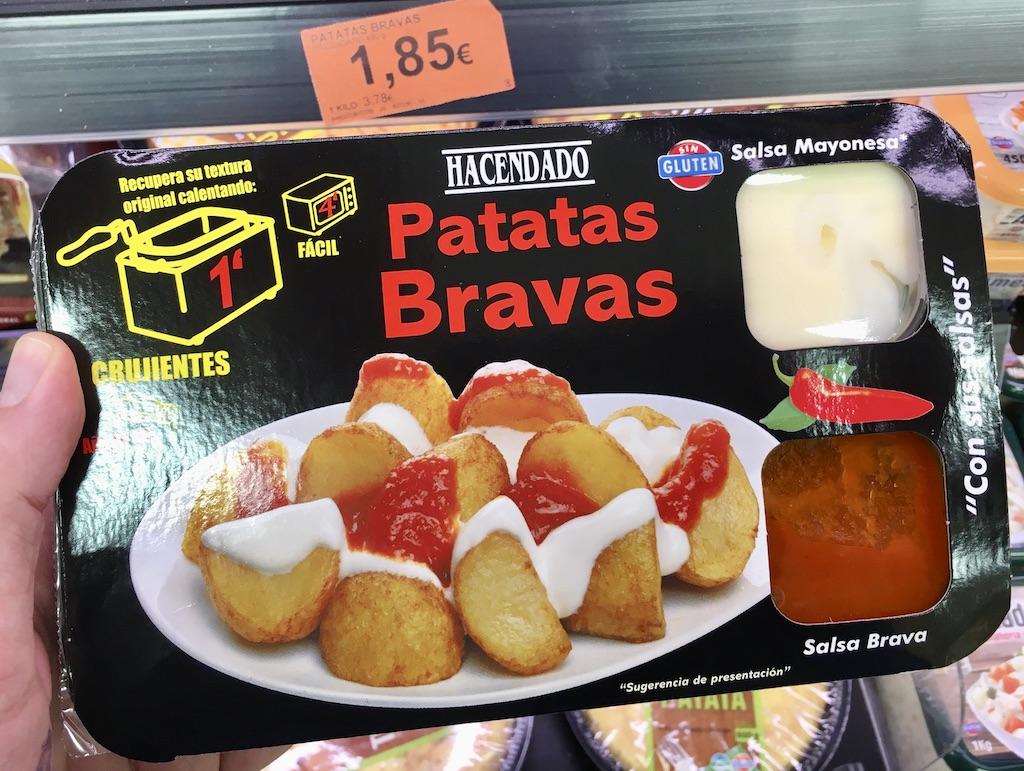 Hacendado Patatas Bravas Set Mikrowelle Friteuse