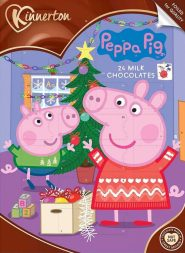 Kinnerton Peppa Pig Adventskalender 24 Milchschokoladenstückchen