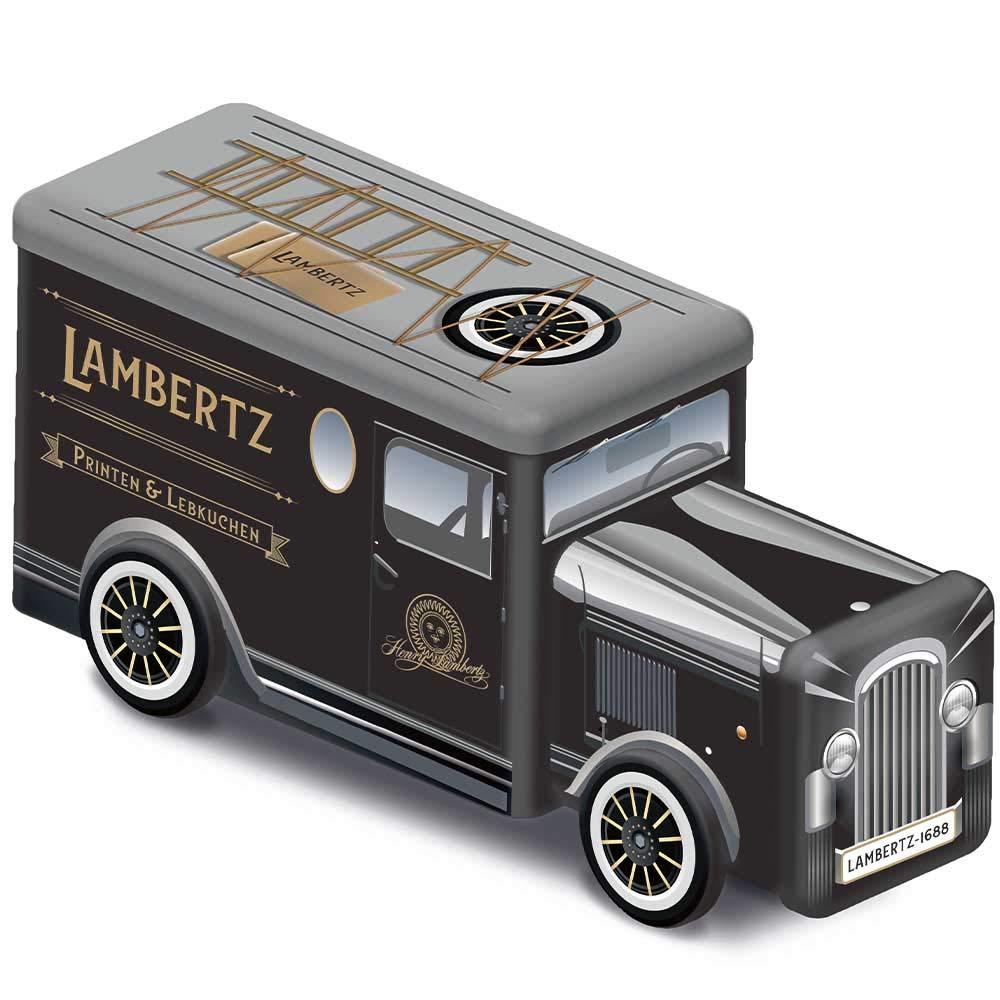 Lambertz Printen+Lebkuchen Blechdose Oldtimer