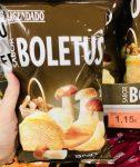 Mercadona Hacendado Kartoffelchips mit Pilzgeschmack Sabor Boletus
