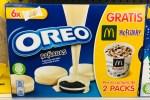Mondelez Oreo mit weißer Schokolade überzogen Halber Gutschein für Gratis McFlurrry McDonalds