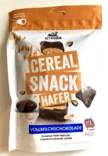 MyCorn Cereal Snack Hafer Kekse Vollmilchschokolade Beutel