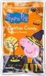 Peppa Pig Cotton Candy Erdbeergeschmack Hexe Halloween 56 Gramm