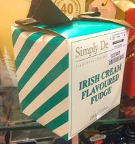 Simply Delicious Irish Cream Flavoured Fudge 200 Gramm