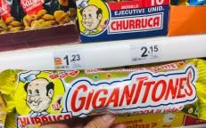 Spanien Churruca tito Maiz Gigante Frittierter Mais mit Kochmotiv