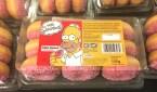 The Simpsons Mini Donut Pink Glazed 135 gramm