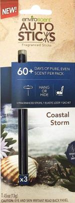 enviroscent Auto Sticks Coastal Storm