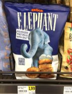Alka Elephant Squeezed Pretzels with Salt