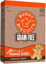 Buddy Biscuits Grain Free with Peanut Butter runchy Treats 396 Gramm