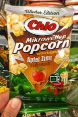 Chio Mikrowellen-Popcorn Winteredition Apfel-Zimt warm+knusprig