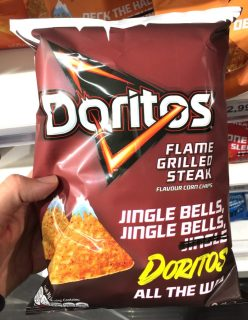 Doritos Flame Grilled Steak Christmas Edition 150 Gramm