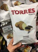 Galerie Lafayette Torres Selecta Cavier Kartoffelchips 110 Gramm