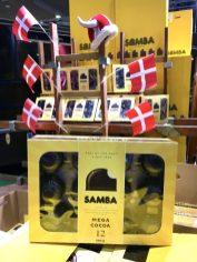 Grüne Woche 2020 Samba-Schokoküsse in der Dänemark-Halle