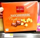Heindl Naschherzerl Nougatcreme 120 Gramm Pralinein Fairtrade
