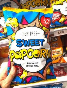 Heritage Sweet Popcorn Comicdesign