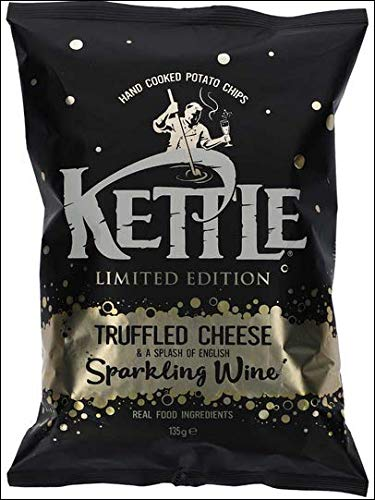 Kettle Truffled Cheese and a splash of english Sparkling Wine Real Food ingredients 125 Gramm