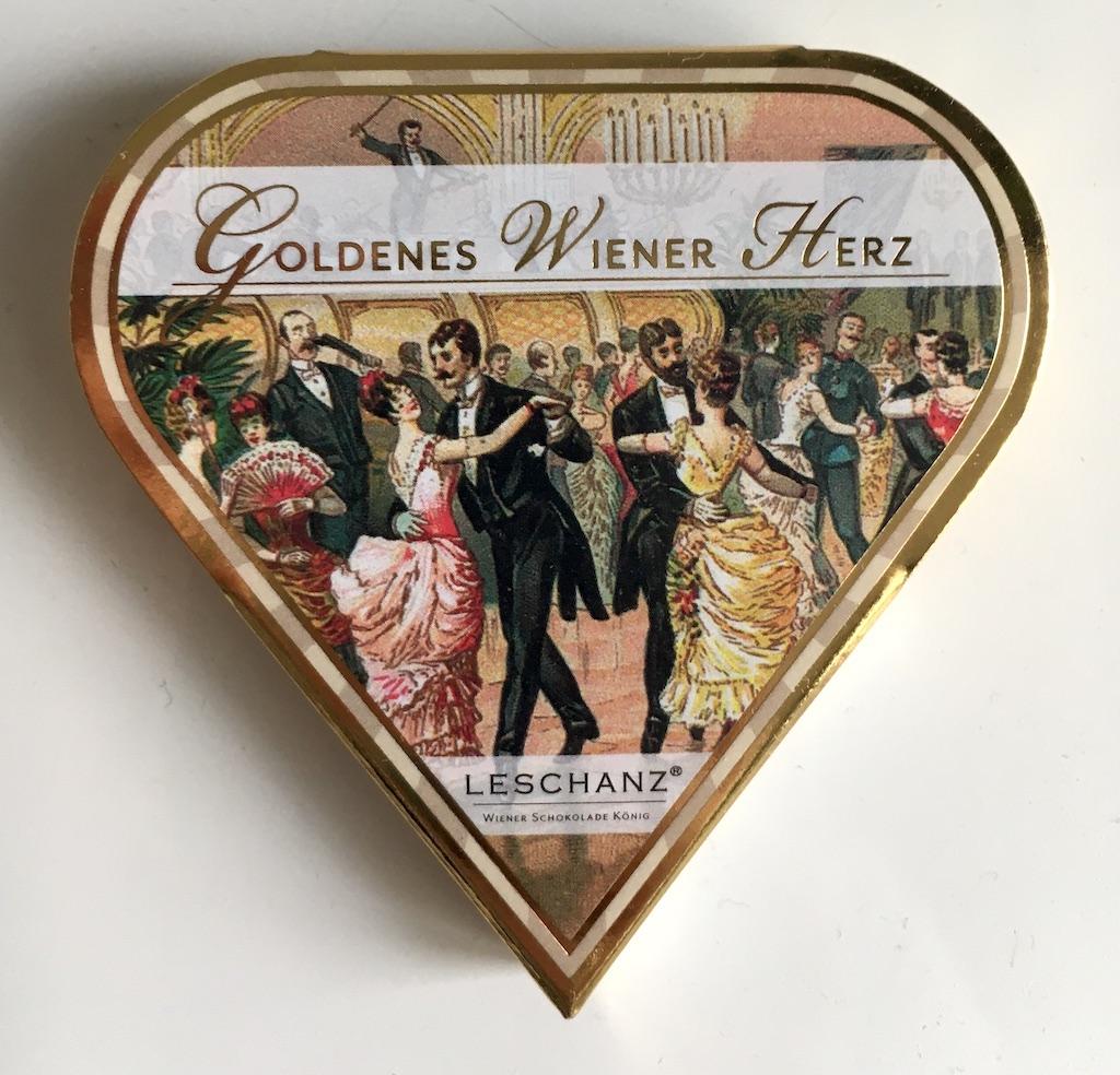 Leschanz Goldenes Wiener Herz Praline