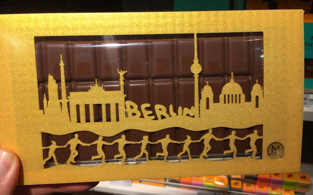 Metropol Chocolatiers Berlin-Tafel unteilbar