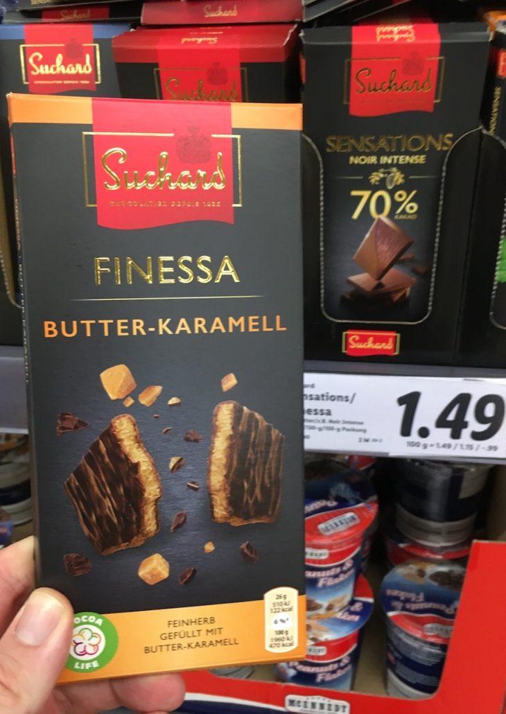 Mondelez Suchard Finessa Butter-Karamell