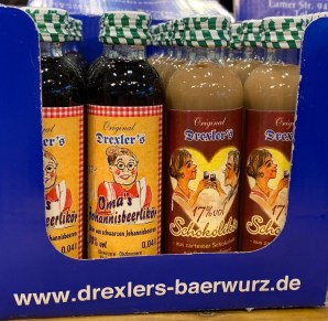 Original Drexler's Omas's Johannisbeerlikör 40 ml Schwarze Johannisbeere-Schokolikör