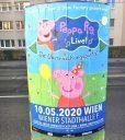Peppa Pig Plakat Wien