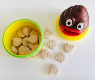 Pooplets Füllung mit Zuckerkomprimat