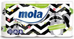 mola Toilettenpapier Waschbärenmotiv und Frischeduft