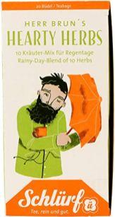Schlürf Tee Herr Brun's Hearthy Herbs