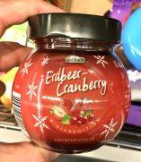Aldi Confifrucht Erdbeer-Cranbery Winteredition Fruchtaufstrich Marmelade