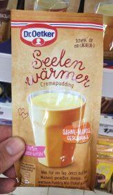 Dr. Oetker Seelenwärmer Cremepudding mit Sahne-Mandel-Geschmack Einzelportion