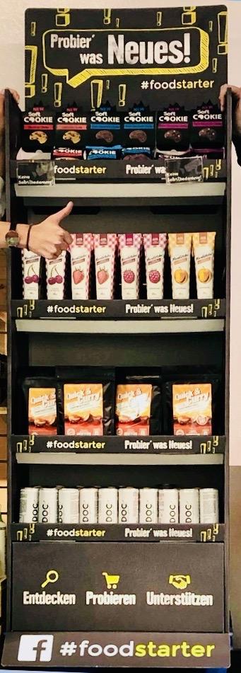 EDEKA Foodstarter Neuigkeiten-Regal