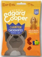 Edgard Cooper Champion Chicken Bites blueberry-apple grain-free