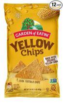 Garden of Eatin Yellow Chips Corn Tortilla Chips 453 Gramm