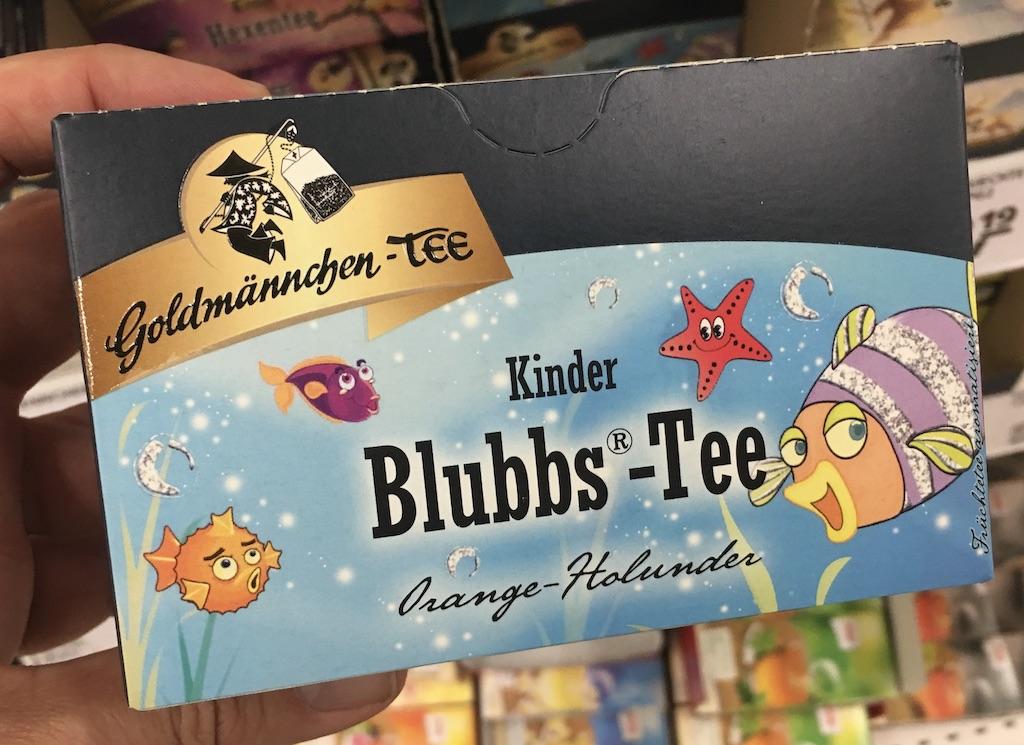 Goldmännchen-Tee Kinder Blubbs-Tee Orange-Holunder