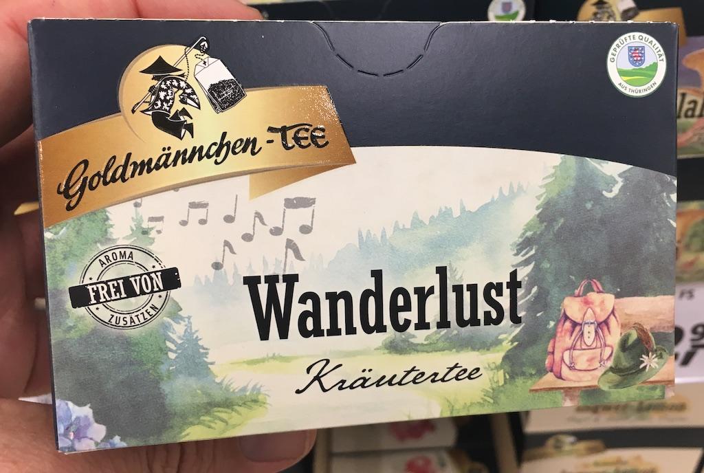 Goldmännchen-Tee Wanderlust Kräutertee