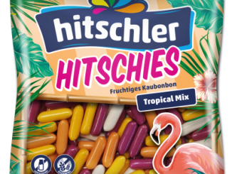 Hitschler Hitschies Tropical Mix 150 Gramm