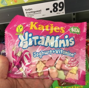 Katjes Vitaminis Joghurt-Vitamine 175 Gramm